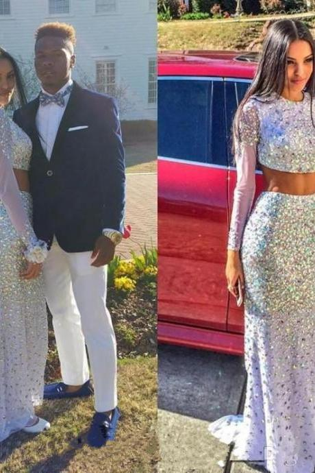 Luxury Prom Dress,Two Piece Prom Dress,Beaded Prom Dress,Sequin Prom Dress,Sparkle Prom Dress,Hot Style Prom Dress,Mermaid Prom Dress,Long Sleeve Prom Dress,Party Dresses,Cheap Prom Dress,Formal Dress, Sexy Gril Dress, Floor-Length Prom Dresses, Evening Dresses, Custom Dress