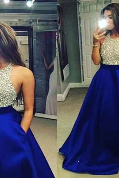Sequin Prom Dress, Long Prom Dress ,Sleeveless Prom Dress ,Sparkly Prom Dress , Evening Prom Dress ,Party Prom Dress,Custom Prom Dress