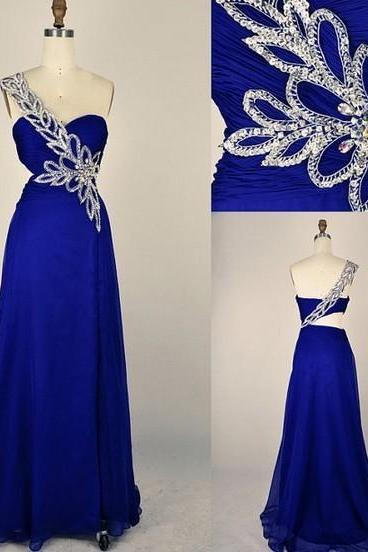 Prom Dress-Long Prom Dress Bridesmaid Dresses Chiffon Dresses Party Dresses Evening Dress Custom size and color