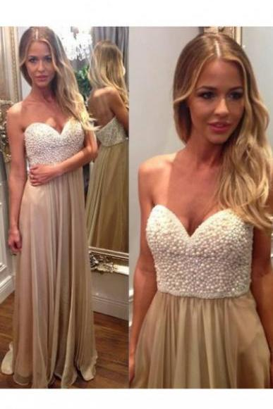 Sweetheart Prom Dresses,A-line Prom Dresses,Long Chiffon Prom Dresses,Long Prom Dresses,Chiffon Prom Dress,Long Chiffon Formal Gowns