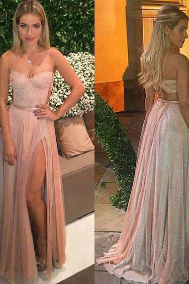 Prom Dresses,Evening Dress,Party Dresses,Pink Backless Prom Dresses,Prom Gowns,Pink Prom Dresses,Long Prom Gown,Prom Dress,Sparkle Evening Gown,Sparkly Party Gowbs