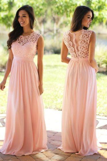 Pink Prom Dresses,chiffon Prom Gowns,Pink Prom Dresses,Long Prom Gown,Prom Dress,Evening Gown,party Gown