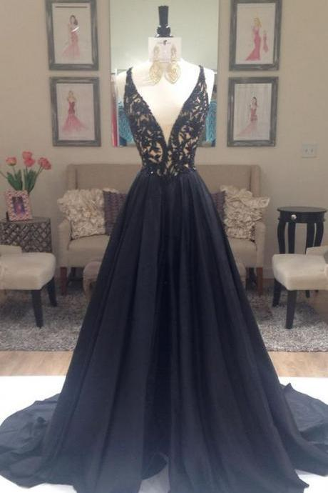 Black Prom Dresses,Backless Prom Dress,Sexy Prom Dress,Simple Prom Dresses,Formal Gown,Evening Gowns,Beaded Party Dress,Prom Gown For Teens