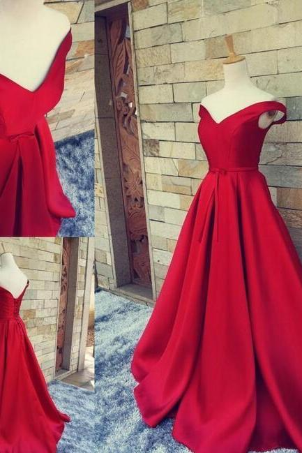 Red Prom Dresses,Prom Dress,Red Prom Dress,Red Prom Dresses,Formal Gown,Ball Gown Evening Gowns,Modest Party Dress,Prom Gown For Teens