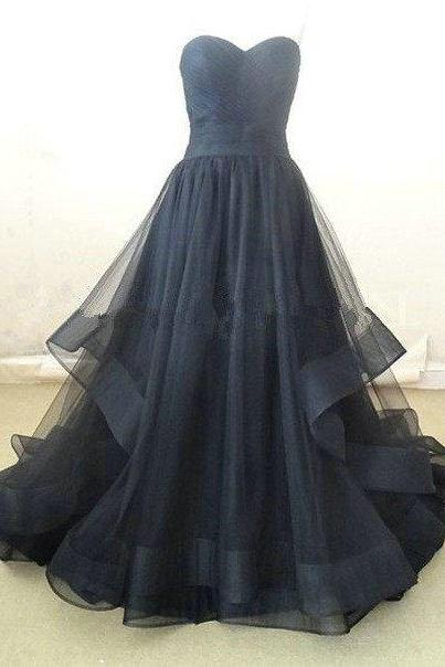 Charming Prom Dress,Organza Prom Dress,Long Prom Dress,Sweetheart Prom Dress,Evening Formal Dress