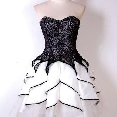 New Arrival Prom Dress,Sweetheart Prom Dress,Short Prom Dress,Cute Ruffles Prom Gown,Short Mini Party Dress for Prom