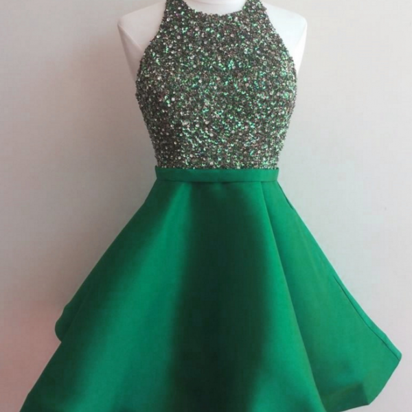 halter homecoming dresses,prom dress,sequins dress,short prom gowns,sequins homecoming dress,sparkly dress